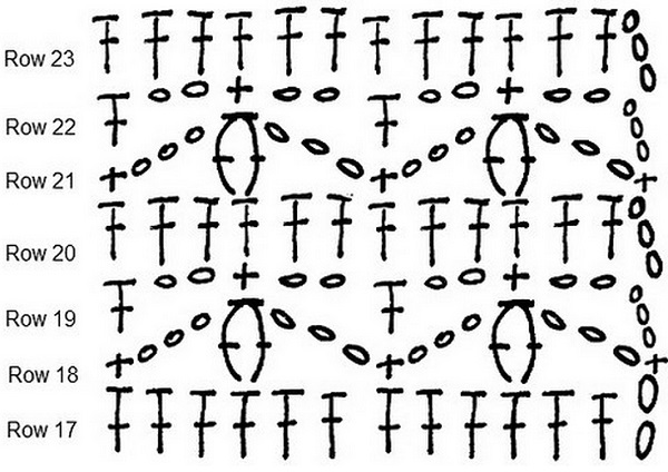 Three Color Crochet Bag Pattern ⋆ Crochet Kingdom