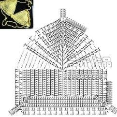 Owl Butterfly Diagram 1997 Jeep Wrangler Wiring Pdf Crochet-bikini-top-pattern-diagram ⋆ Crochet Kingdom