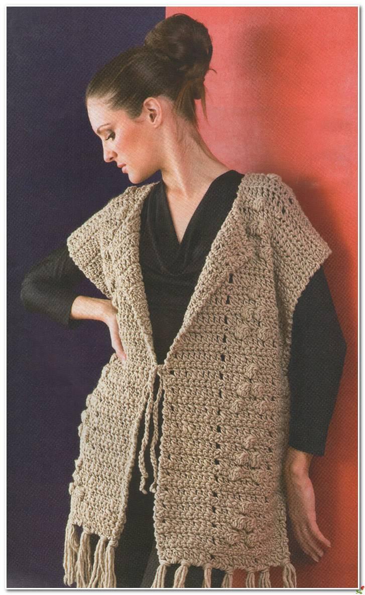 Simple Crochet Vest Pattern  Crochet Kingdom