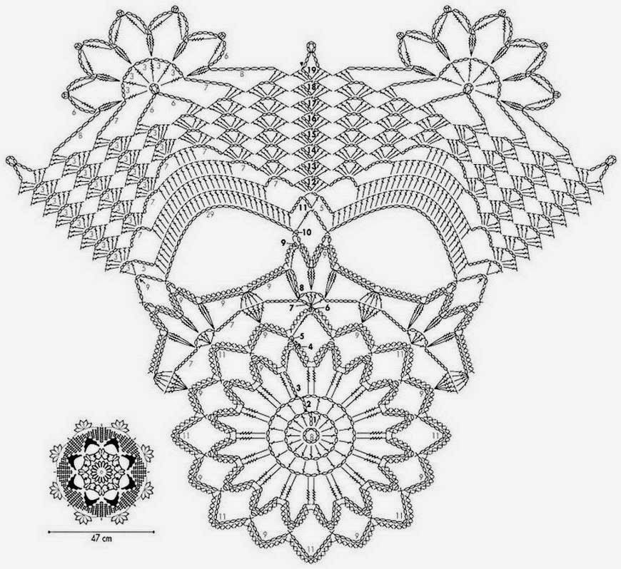 crochet doily patterns with diagram alpine ktp 445u power pack wiring free diagrams dancox for kingdom
