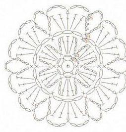 Lovely Free Crochet Flower Pattern ⋆ Crochet Kingdom