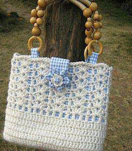 Rectangular Crochet Lace Bag Pattern  Crochet Kingdom