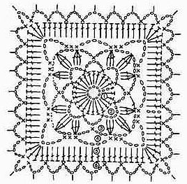 Four Free Square Crochet Motifs ⋆ Crochet Kingdom