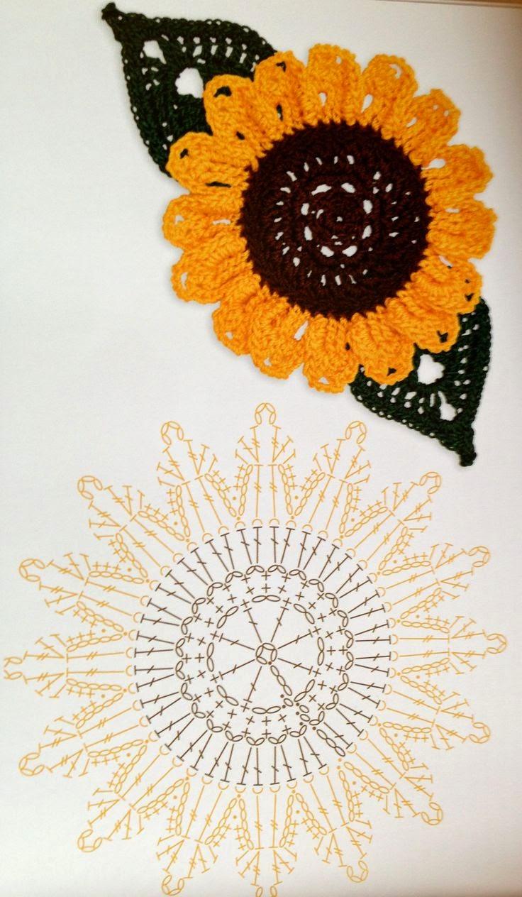 Crochet Sunflower Pattern  Crochet Kingdom
