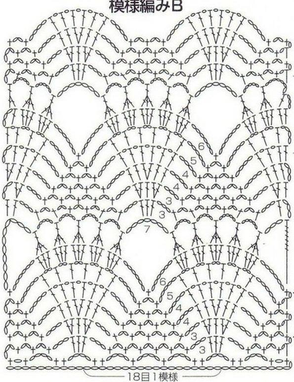 Shell and Open Shoulder Crochet Top ⋆ Crochet Kingdom