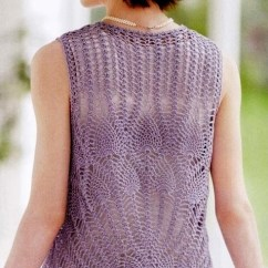 How To Read Crochet Diagrams 1977 Kz1000 Wiring Diagram Pineapple Stitch Vest ⋆ Kingdom