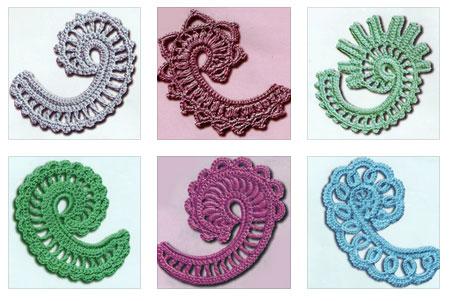6 Paisley Crochet Motifs  Crochet Kingdom