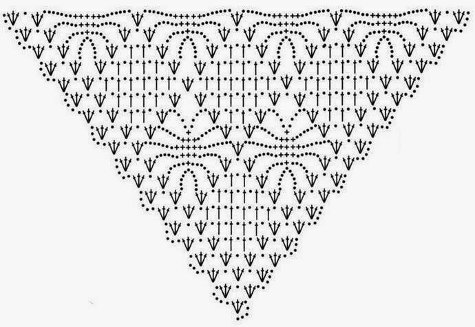 Shawl Diamond Squares Crochet Pattern ⋆ Crochet Kingdom
