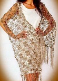 Fine Lace Flower Motif Crochet Shawl Pattern  Crochet Kingdom