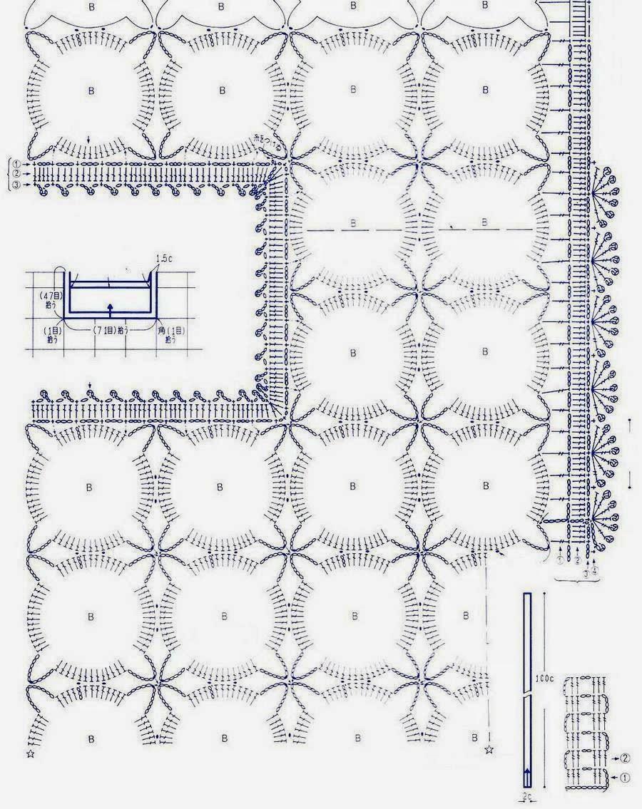 Long Circle Lace Crochet Tunic ⋆ Crochet Kingdom