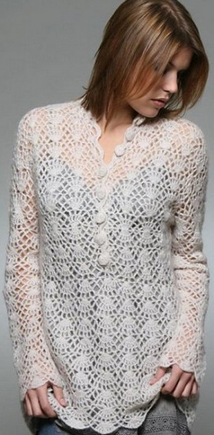 White Tunic Crochet Pattern Free  Crochet Kingdom