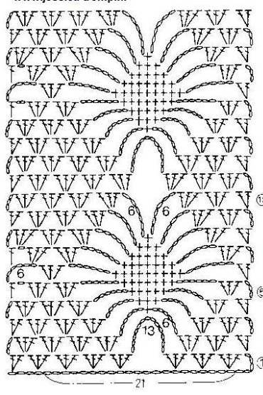 Big Diamond Stitch Crochet ⋆ Crochet Kingdom