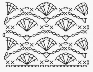 Fan Waves Crochet Stitch ⋆ Crochet Kingdom