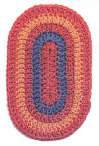 Crochet Oval Motif  Crochet Kingdom