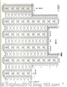 Openwork Fishnet Lace Strips Crochet Vest Pattern