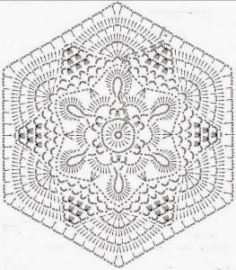 The hexagonal motif crochet ⋆ Crochet Kingdom