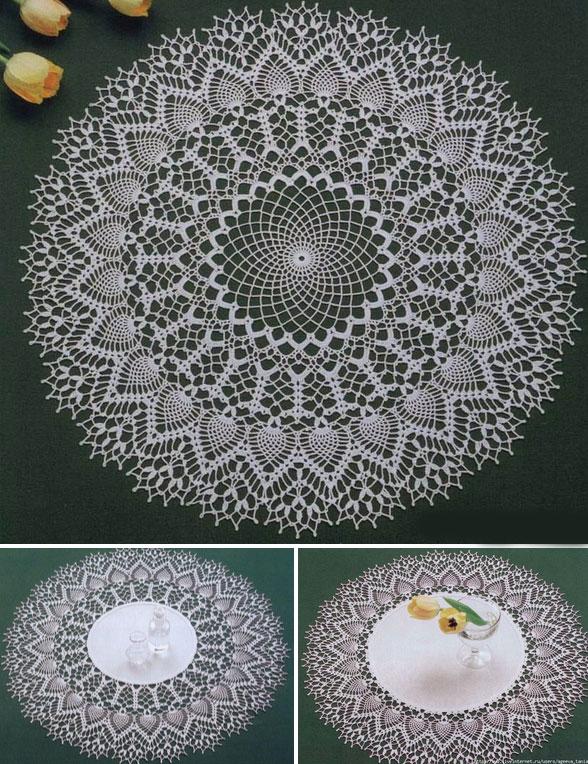 Three Beautiful Crochet Doily Pattern  Crochet Kingdom