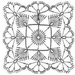 lace-crochet-square-pattern-diagram ⋆ Crochet Kingdom