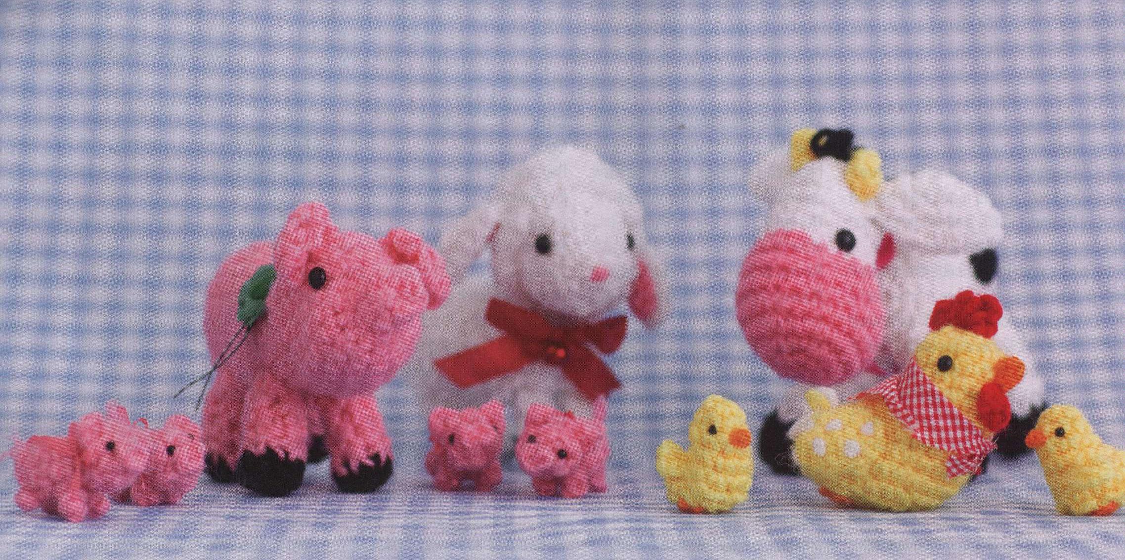 Crochet Farm Animals Amigurumi Crochet Kingdom