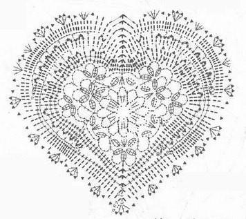 3 Ornamental Heart Crochet Patterns ⋆ Crochet Kingdom