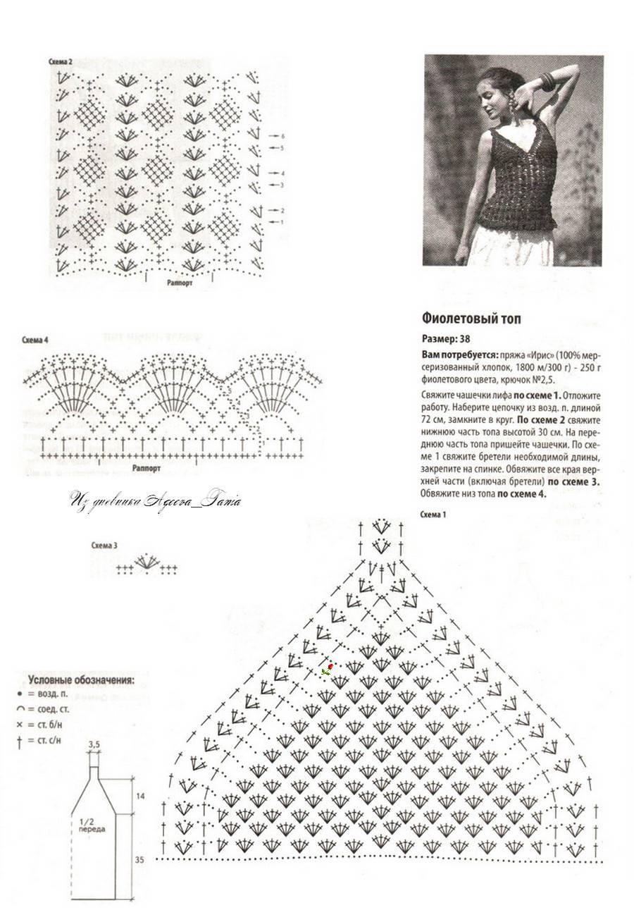 Lace Singlet Crochet Top Pattern ⋆ Crochet Kingdom
