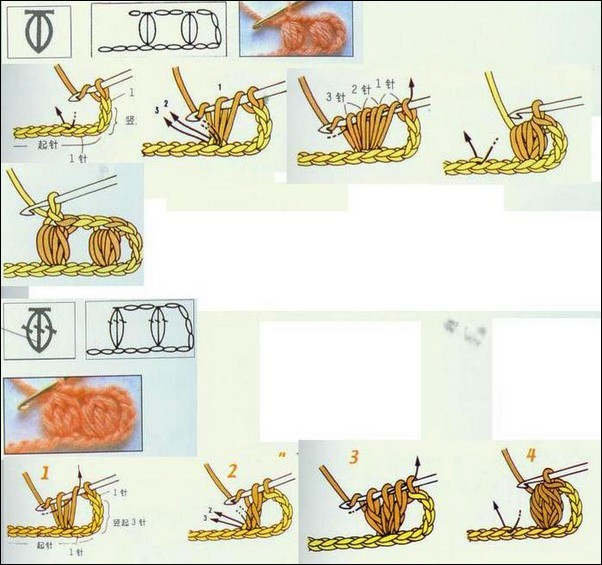 Crochet Stitch Illustrated Tutorials  Crochet Kingdom