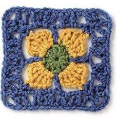 Free Crochet Square Pattern Diagram Sodium Dot Unique Granny ⋆ Kingdom