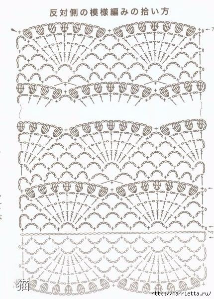 Large Fan Stitch Shawl Crochet Pattern ⋆ Crochet Kingdom