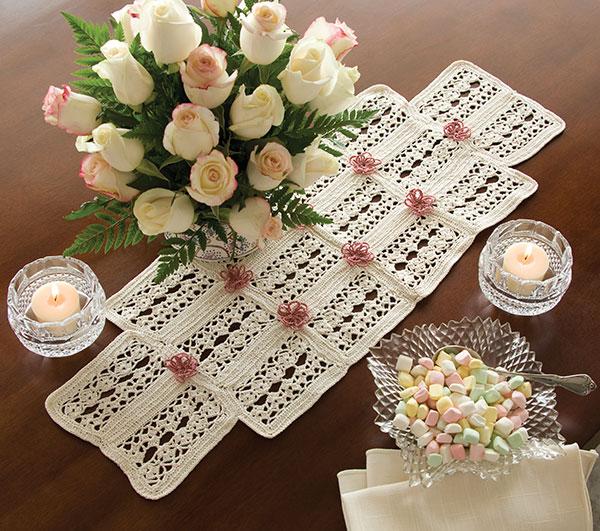 free crochet square pattern diagram thermostat wiring honeywell table runner ⋆ kingdom (10 patterns)