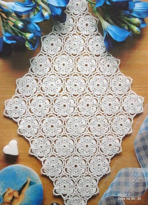 free crochet square pattern diagram kenmore 106 refrigerator parts table runner ⋆ kingdom (10 patterns)