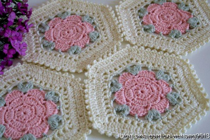 Crochet Hexagon Motif Pattern Diagram