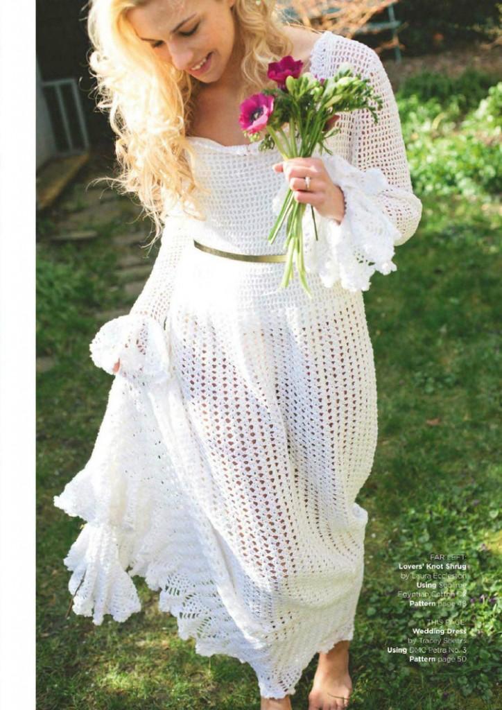 free crochet wedding dress pattern Archives  Crochet