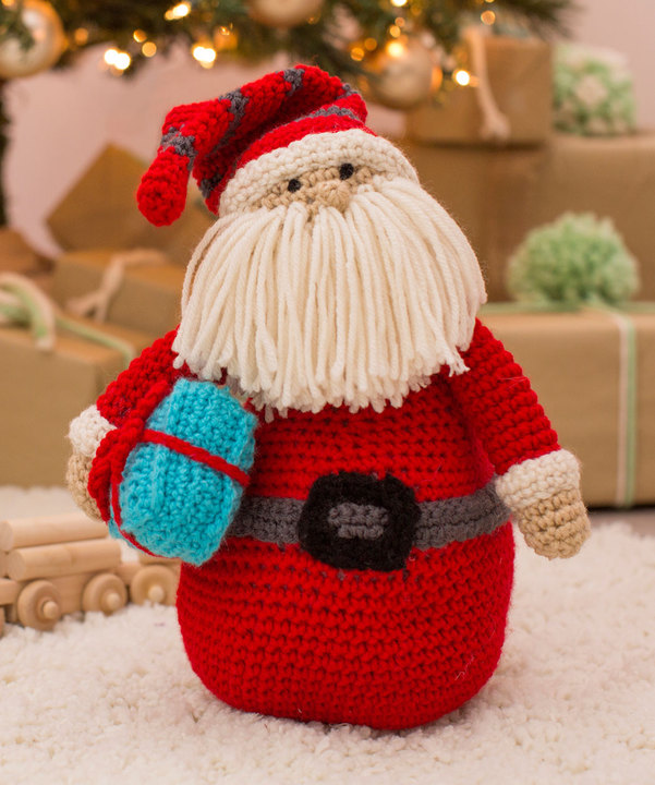 Knitted Boot Topper Patterns Santa