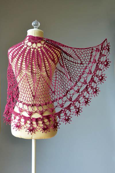 crochet scarf pattern diagram fujitsu ten wiring isuzu shawls ⋆ kingdom (71 free patterns)