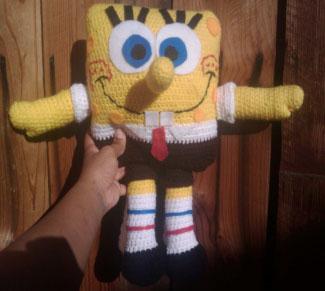 Free Spongebob Pattern to Crochet  Crochet Kingdom