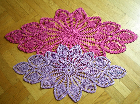 pineapple crochet doily diagram standard 7 pin trailer wiring australia 90+ free patterns you'll love making (99 patterns)