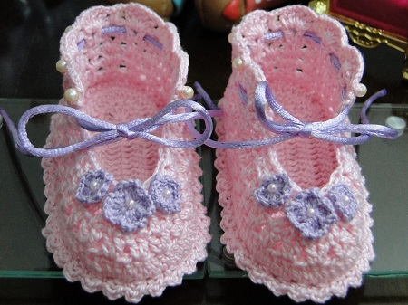 crochet baby booties diagram hei distributor wiring ford beautiful lace free pattern kingdom from croche para barbie blog