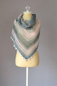 free triangle motif shawl crochet pattern Archives ...