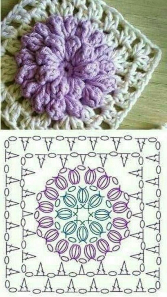 crochet granny square diagram crossover cable wiring t568b the ultimate diagrams collection kingdom more patterns like this woven motif
