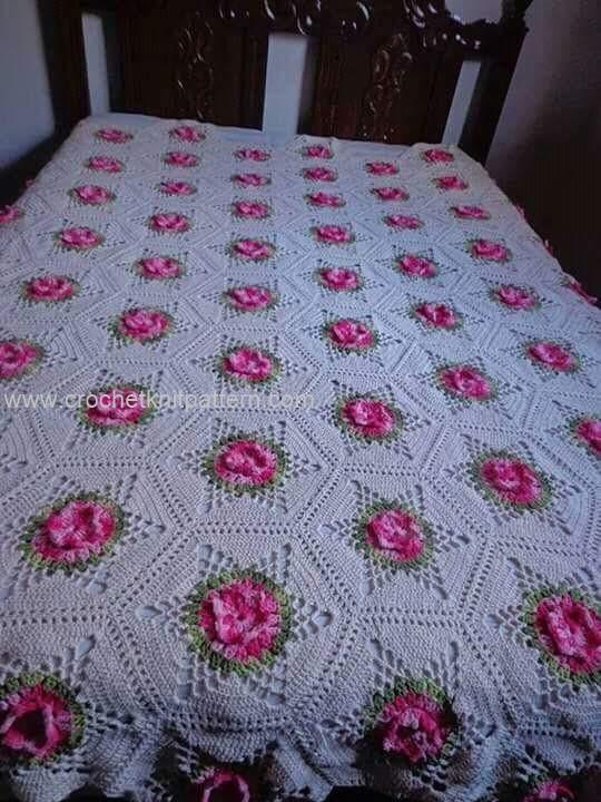 Crochet Bedspread Patterns Part 2   Beautiful Crochet Patterns and Knitting Patterns