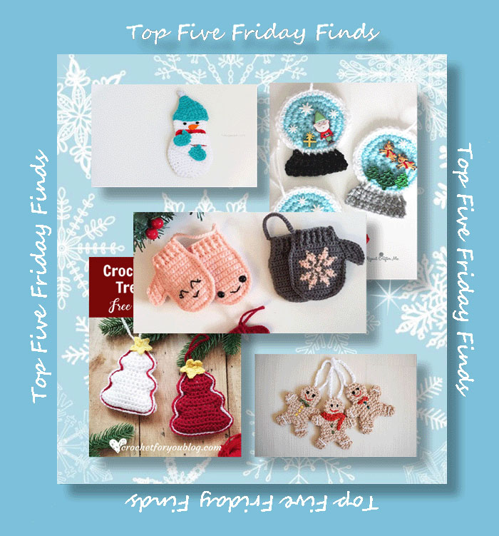Top Five Friday Finds - Quick Christmas Projects