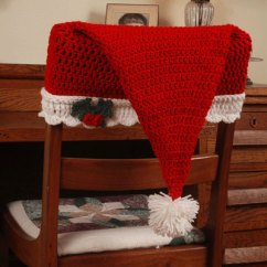 Crochet Christmas Chair Covers Low Back Lawn 9 Patterns Santa Hat