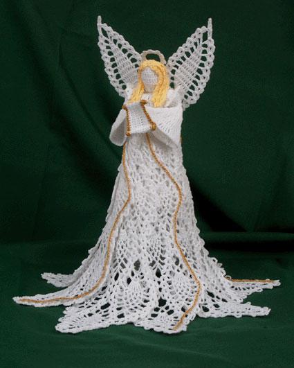 Crochet Angel Patterns Hallowed Pineapple Seraph