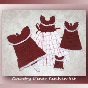 Country Diner Kitchen Set