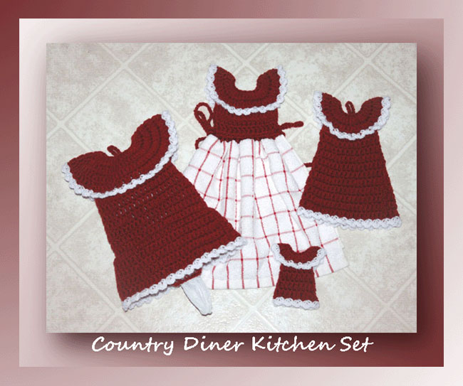 Country Diner Kitchen Set
