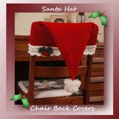 Crochet Christmas Chair Covers Ergonomic Laptop Santa Hat Back 4 95 Memories
