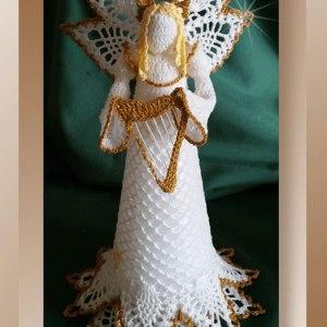 Lacy Pineapple Angel
