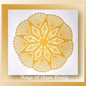 Rays of Hope Doily
