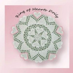 Ring of Hearts Doily