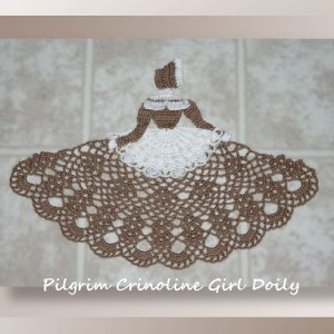 Pilgrim Crinoline Girl Doily